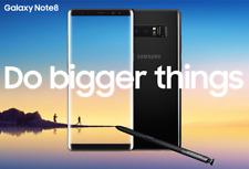 Samsung Galaxy Note 8 N950f Warranty+Invoice+8 Accessories Gift