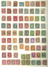 Norway. Old stamps.Mostly posthorn and skilling.