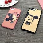 Cartoon Cute Mickey Minnie Lover Couple Clear Case for iPhone 6s Plus 7/7 Plus