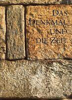 ★DAS DENKMAL UND DIE ZEIT★Faksimile Verlag, Luzern★großer BILDBAND mit Umschlag★