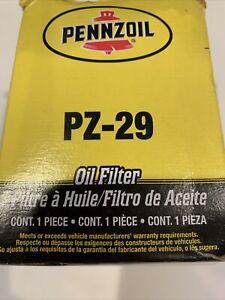Pennzoil PZ 29 Engine Oil Filter