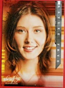 Joss Whedon's FIREFLY - Card #07 - KAYLEE FRYE - Inkworks 2006