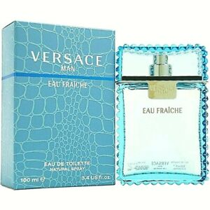 Versace Man Eau Fraiche Eau de Toilette EDT, 3.4 Oz NIB
