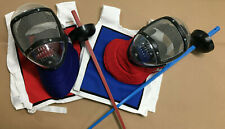 NEW Youth Kids Leon Paul Plastic Fencing Plastic Epee + Mask + Vest