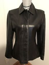 Bod & Christensen Couture Women's Fitted 100% Leather Jacket