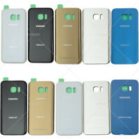 New Back Battery Glass Cover Rear Door Replacement For Samsung Galaxy S7 S7 Edge