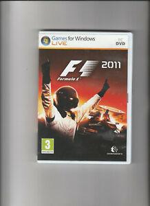 PC DVD-ROM Game - F1: 2011 (Formula 1)