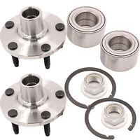 2PCS Front Wheel Hub Bearing Fits 11-14 Ford Edge 11-15 Lincoln Mkx