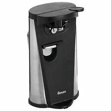 Brand New Swan 3 in 1 Electric Can Opener Bottle Opener & Sharpener