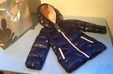 Girls Benetton Winter Coat/Navy Blue & Pink/New With Tags/Age 1/Puffa Style/Warm