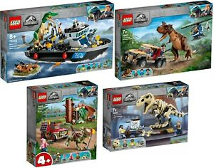 Baryonyx Dinosaur Escape Jurassic World LEGO 76942 76941 76940 76939 Neu9/21