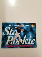 1995 Upper Deck UD Derek Jeter Star Rookie  #225 New York Yankees  A677