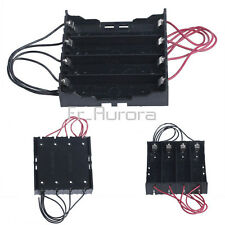 Battery Plastic Holder Storage Box Case For 4x 18650 3.7V Rechargeable Battery
