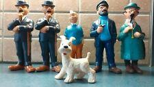 Figurines Tintin à sifflet (pouet-pouet) années 60