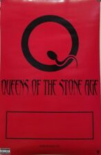 QUEENS OF THE STONE AGE 2002 2 sided promotional poster New Old Stock Flawless