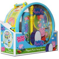 New Peppa Pig Pack Away Drum Musical Set