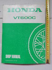 MANUALE OFFICINA HONDA VT 600 C MANUAL REPAIR