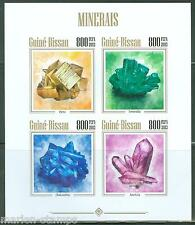 Guinea Bissau 2013 Minerals Sheet Imperforated Mint Nh