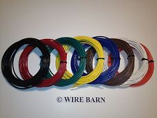 14 AWG MACHINE TOOL WIRE - MTW - 8 COLORS - 25' EACH COLOR - MADE USA