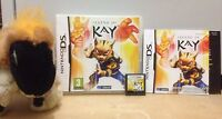 THE LEGEND OF KAY on NINTENDO DS DSI 3DS 2DS XL action adventure fighting game