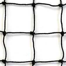 Baseball, Softball  Barrier Net,Knotted Nylon , #18  Black, 10' X 50' NEW!