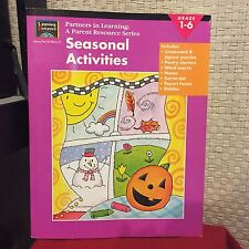 Learning Horizons Seasonal Activities Grade 1-6 Partners In Learning Free Ship