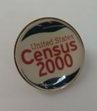 VINTAGE UNITED STATES 2000 CENSUS LAPEL PIN                       (INV15295)