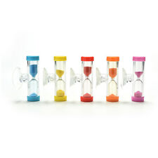 New Hourglass for Shower Timer/Teeth Brushing Timer with Suction Cup P kc