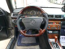 Mercedes-benz AMG look W124 W210 W208 W140 W129 R129 STEERING WHEEL Wood Walnut