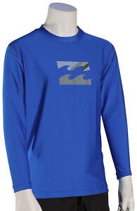 Billabong Boy's Chronicle LS Surf Shirt - Royal - New