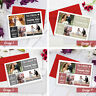 Wedding Thank You Cards | A6 Folded Cards | Personalised with Photo Collage