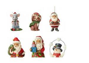Jim Shore Heartwood Creek Christmas Decorations Ornament Mini Figurine Enesco