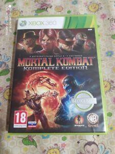 Mortal Kombat Komplete Edition Game Xbox 360