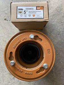 SUN-FD1002NH-5A Cast Iron Floor Drain, NEW.
