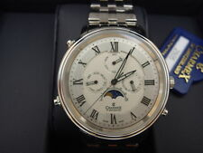 Charmex Vienna II Men's Quartz Moon Phase Watch 2505 Sapphire Crystal *NEW