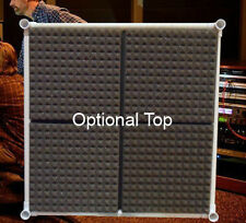 Optional Top for  Vocal Booth Noise Reflection & Echo Eliminator