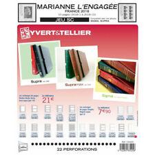 Jeux SC France blocs Marianne l'engagée 2018 avec pochettes.