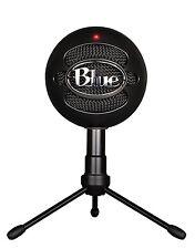 Blue Microphones Snowball iCE USB Micrófono-Negro Mac PC Computadora Portátil-TOTALMENTE NUEVO