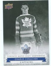 2017 UPPER DECK TORONTO MAPLE LEAFS CENTENNIAL SP #101 CHARLIE CONACHER *50069