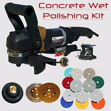 Stadea Concrete Countertop Polishing Tools Kit Concrete Countertop Wet Polishing
