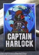 """Captain Harlock Movie Poster - 2"""" X 3"""" Fridge /Locker Magnet. Japanese Animation"""