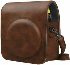 For Fujifilm Instax Mini 70 Protective Case Leather Bag Cover w/Adjustable Strap