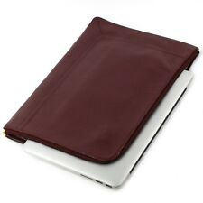 VMA Laptop Sleeve Cowhide Genuine Leather 13'- 14' Laptops- Macbook, Dell, Asus