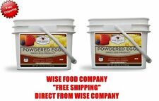 2 x Wise Food 144 Serving Powdered Eggs In a Bucket Emergency/Survival Meals