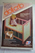 Rare Betsey Clark Wood Doll Crib Atf American Toy Furniture Df-1103 Sealed Nib