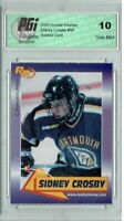 Sidney Crosby 2003 Rookie Review #56 Rookie Card PGI 10