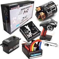 3Racing Sakura D4 RWD BK Edtion Drift Car Kit Servo ESC Gyro Motor Radio #CB1168