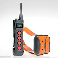 Super Pet Dog Shock Collar 1KM Remote Control Training Auto Anti-Bark Waterproof