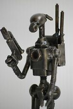 COOL GIFTS Christmas Gifts Droid soldier (C) Scrap  Metal Sculpture GIFTS Cool