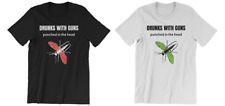 DRUNKS WITH GUNS St Louis punk band official merch! Reunion tour shirt S to XXXL